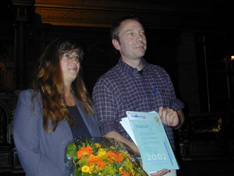 30.9.2002: Dieter Baacke Preis in Hamburg verliehen