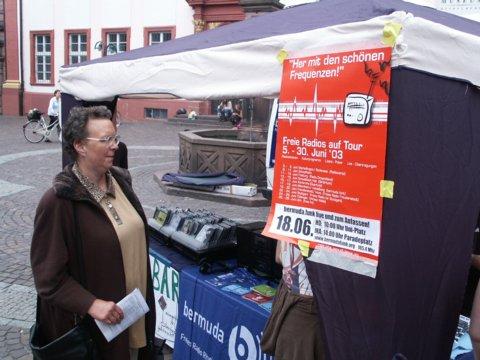 Heidelberg: Bermudafunker auf Radiotour
