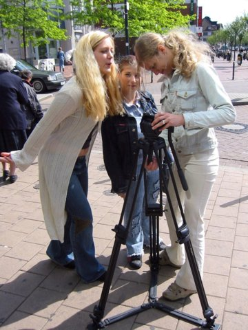 Essen – Kassel – Neuwied: Girls' Day in the O. K.