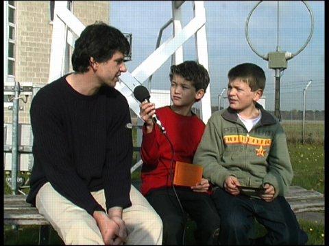 """Total locker!"" – Münsteraner Kinder als Wetter-Reporter"