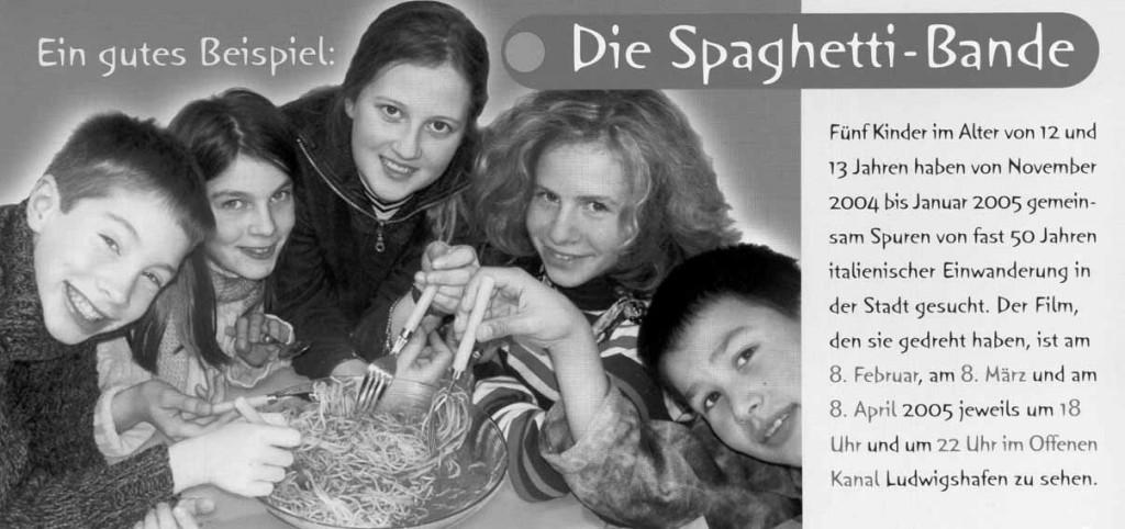 Die Spaghetti-Bande: Premiere im OK LU und Wettbewerb