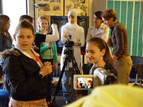 Girls, Girls, Girls beim Offenen Kanal … Girls' Day 2005