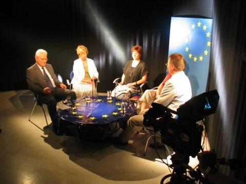 """Themenwoche """"Europa"""" im Offenen Kanal Gera"""