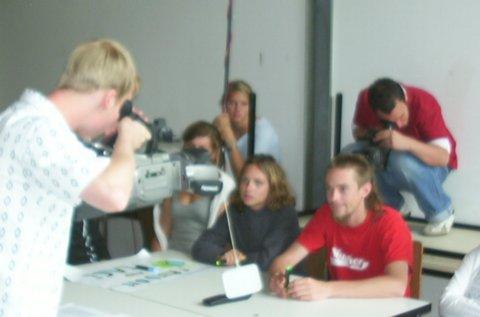 Auch 2006 Internationales Jugendmediencamp in Münster