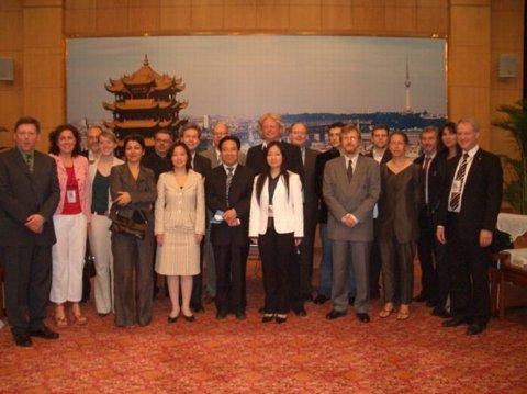 Deutsche Mediendelegation in China
