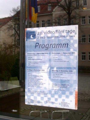 """video/film tage: """"Träume"""", """"Engel"""", """"Zeit zum Erinnern"""""""