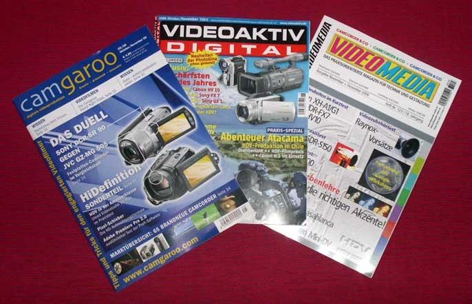 conneX testet: Drei Videozeitschriften unter der Lupe