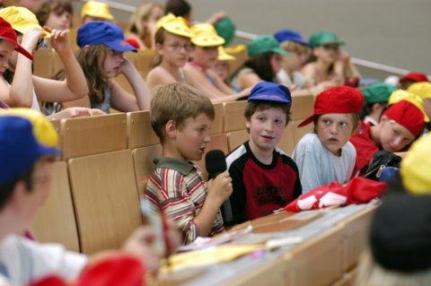Landauer Kinderreporter bei ARD