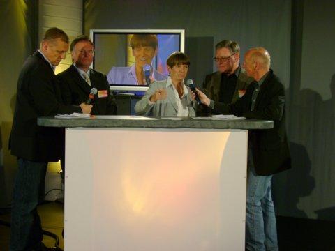 Empfang, Livesendung und Party: Offenbach feiert