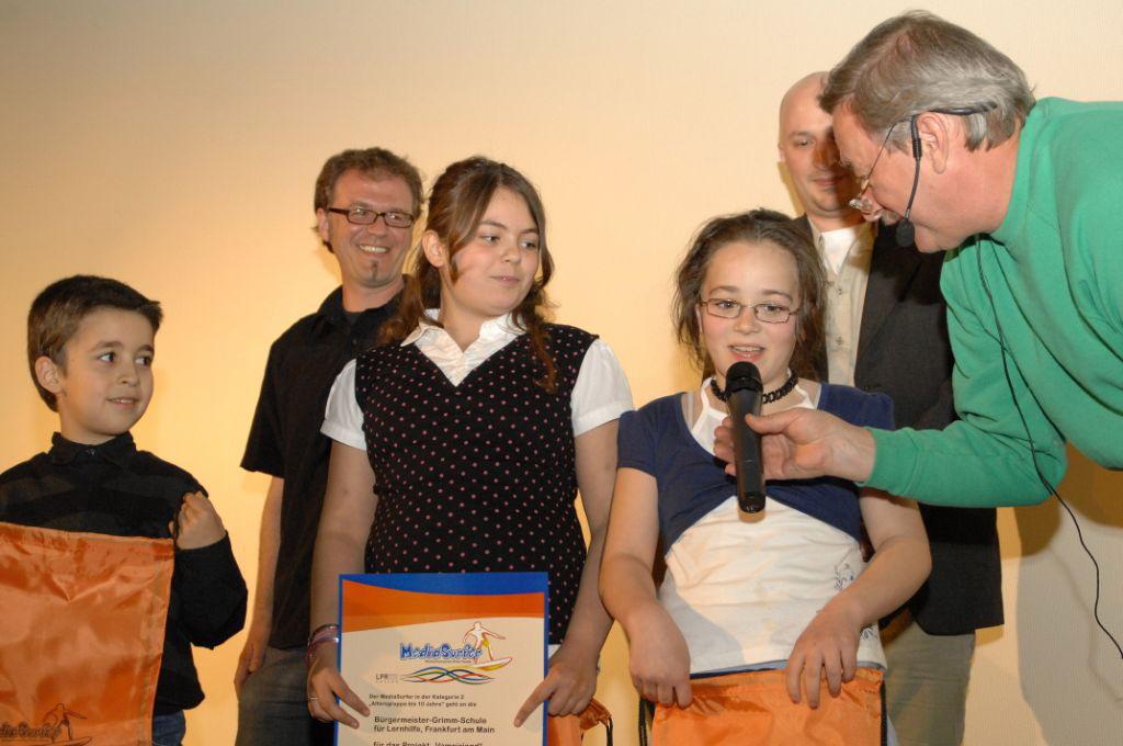 MediaSurfer-Preis 2007