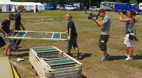 XII. Bundesjugendlager: Zeltlager geht auf Sendung
