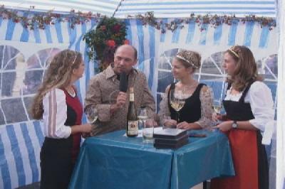 Winzerfestumzug aus Neustadt/Weinstrasse live