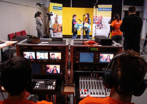 Jugendredaktionen von m+b.com berichten aus dem ZDF