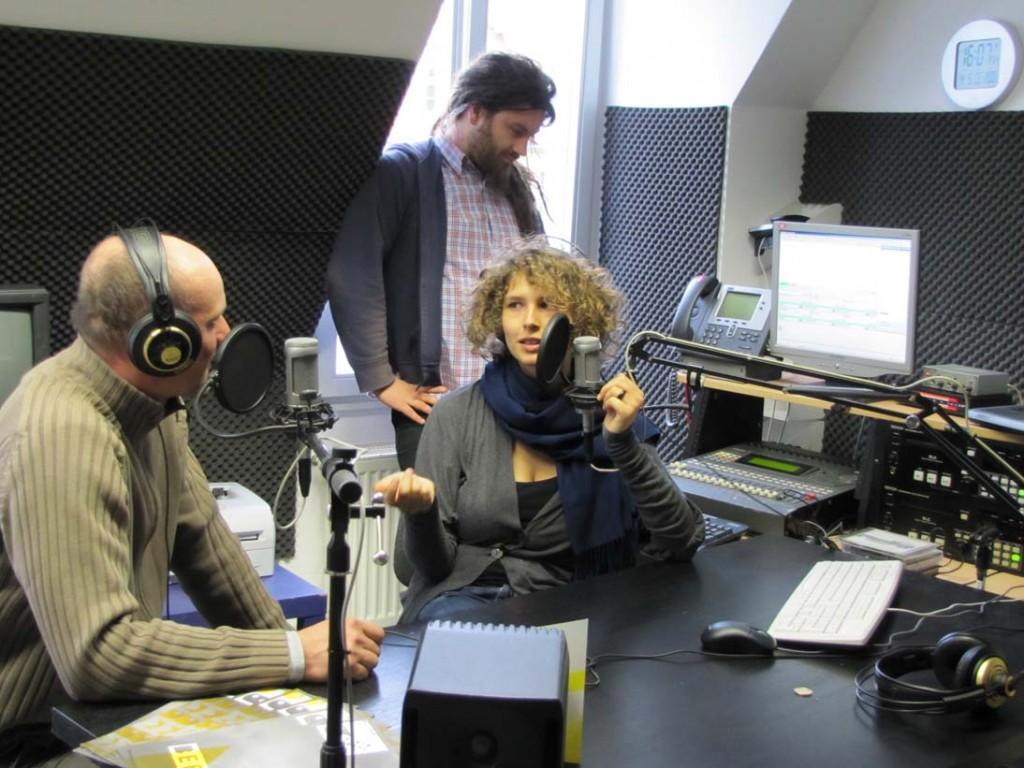Radio CORAX eröffnet Stadtteilstudio im Designhaus Halle