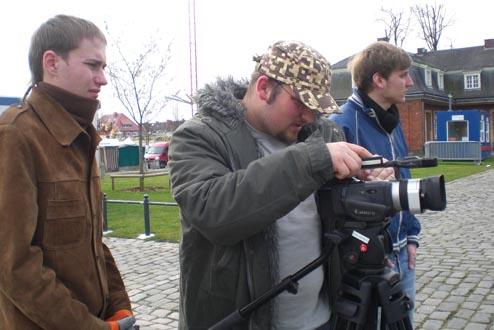 """Netzwerkprojekt """"Jugend in Aktion TV"""" mit Lublin und Orleans"""