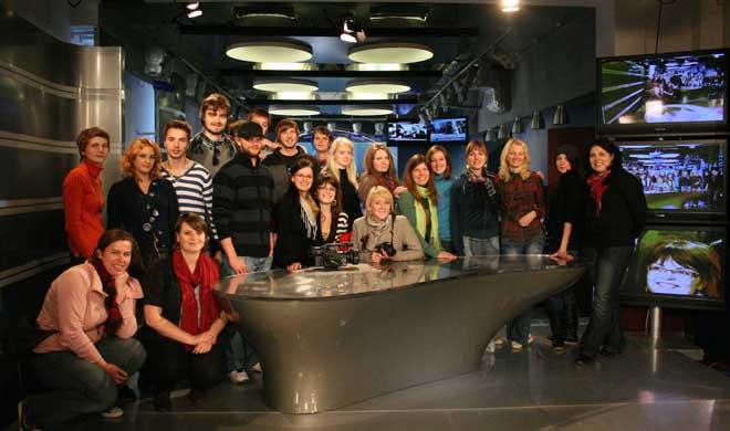 Kunst- und Medienprojekt mit Jugendlichen aus Lublin