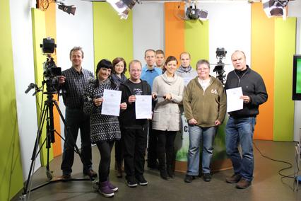 1. Platz beim Bürgermedienpreis 2010 für das Campus TV