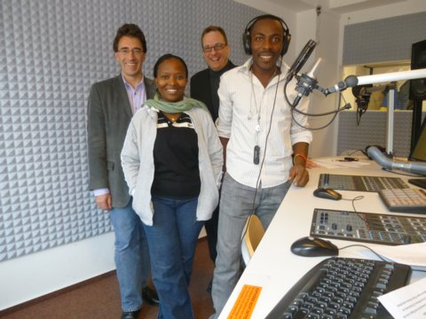 Gäste aus Tansania in Hannover angekommen