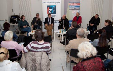 Tour der Thüringer Mediengespräche der TLM
