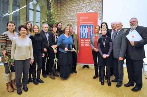 Bürgerpreis der Sparkassenstiftung Erfurt für Fledermausfunk
