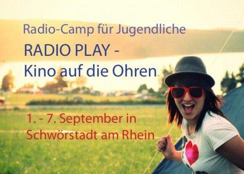 Radio Play – Baden, zelten und Radio machen