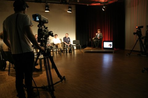 Wahl-Sendung im Rostocker Offenen Kanal (rok-tv)