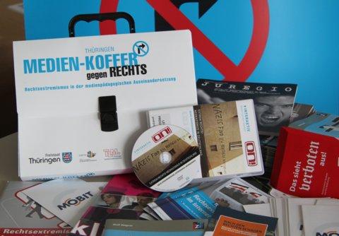 """Präsentation Thüringer """"MEDIEN-KOFFER gegen RECHTS"""""""