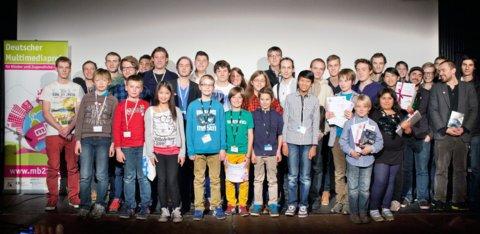 Preisverleihung des Deutschen Multimediapreises