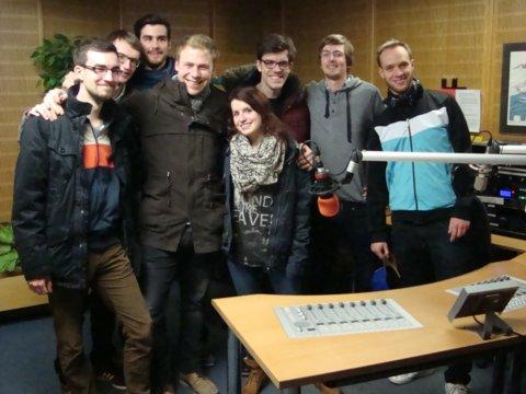 Radio RheinWelle: Journalismus-Studenten auf Sendung