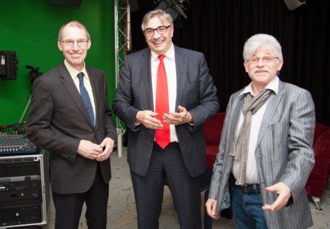 Hochrangiger SPD-Besuch in der Thüringer Medienanstalt