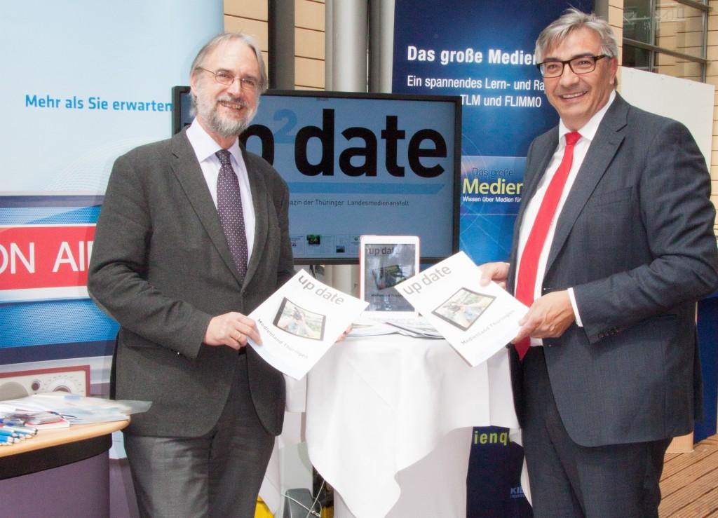 """Jetzt neu! """"up²date"""" – Das Magazin der TLM"""