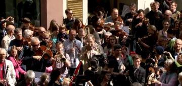 Flashmob in Mainz – Beethovens 9. Sinfonie (Staatsorchester und Domchor)