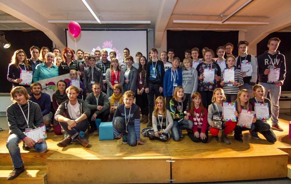 Feierlicher Abschluss beim Deutschen Multimediapreis