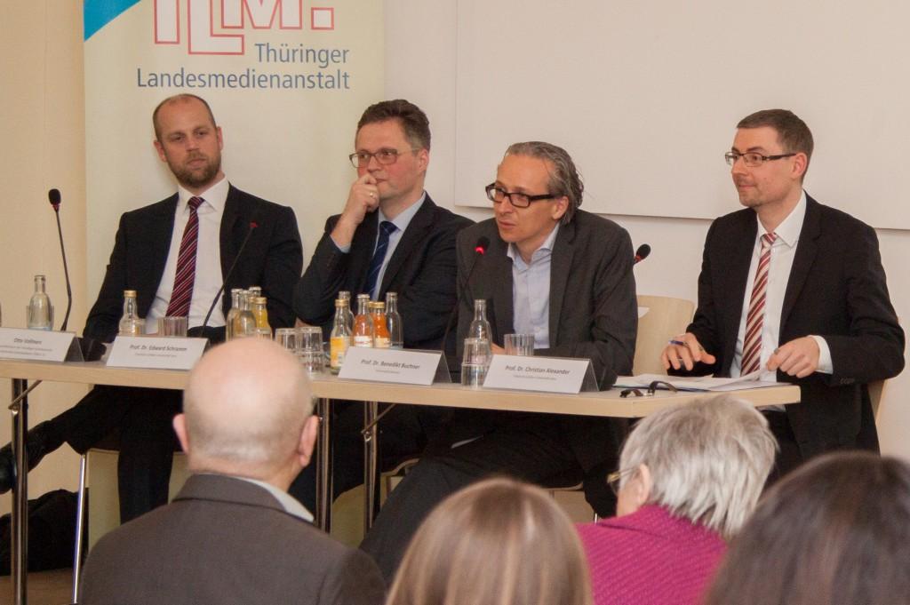 Auftakt Jenaer Medienrechtliche Gespräche von FSU Jena und TLM
