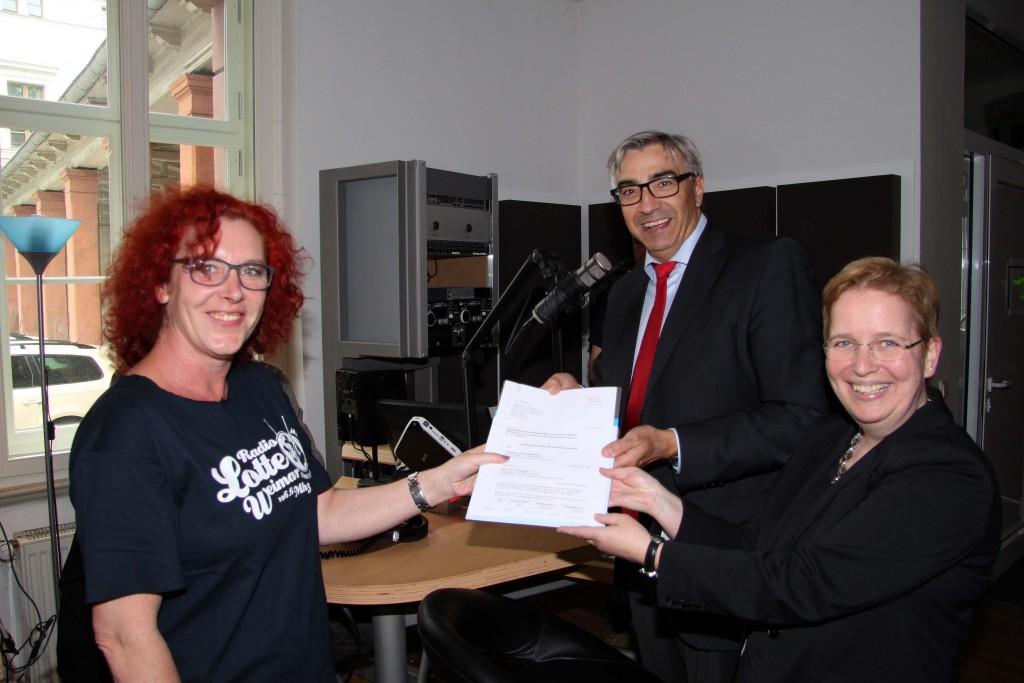 Bürgerradiolizenz an Radio LOTTE Weimar bis 2019 übergeben