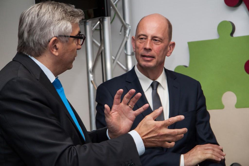 Minister Tiefensee besucht Thüringer Landesmedienanstalt