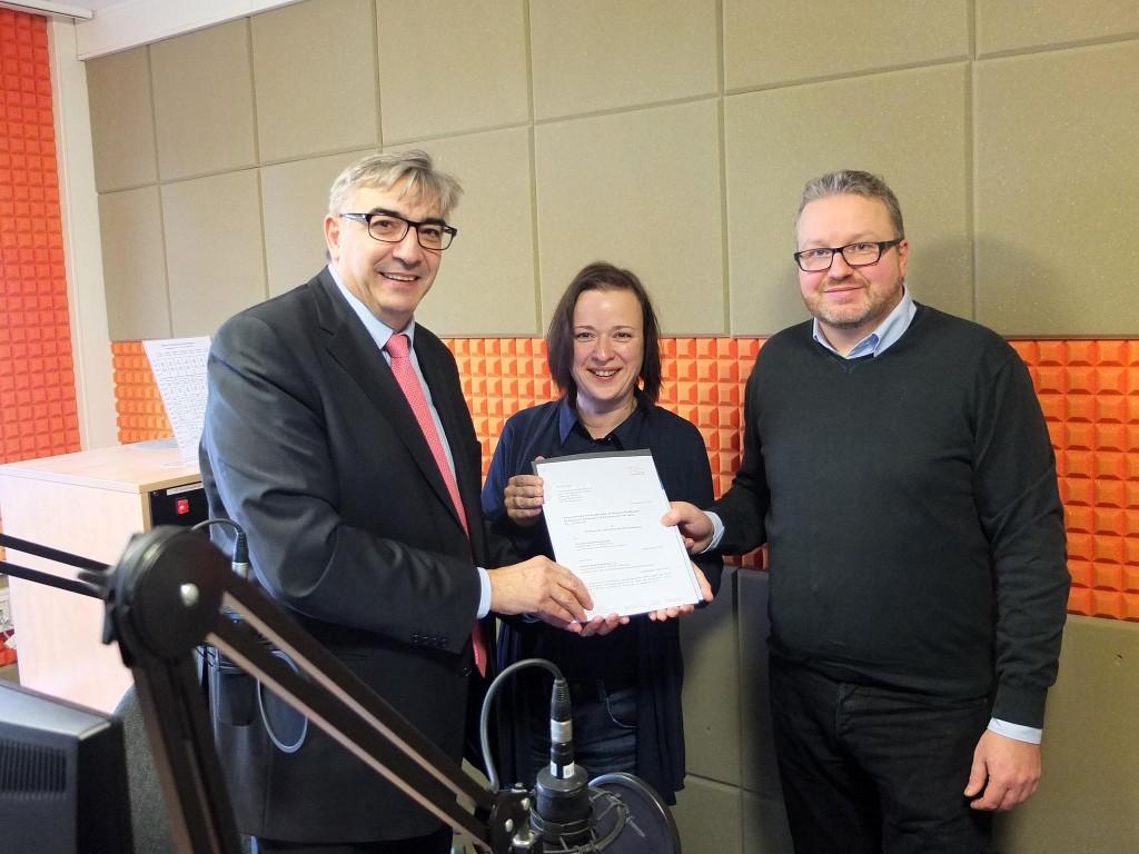Startschuss für Radio ENNO in Nordhausen