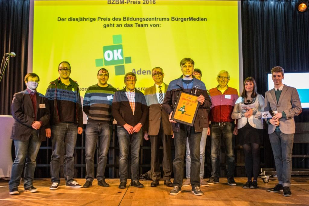 OK-TV-Tag 2016 in Haßloch: OK4 Adenau erhält BZBM-Preis 2016