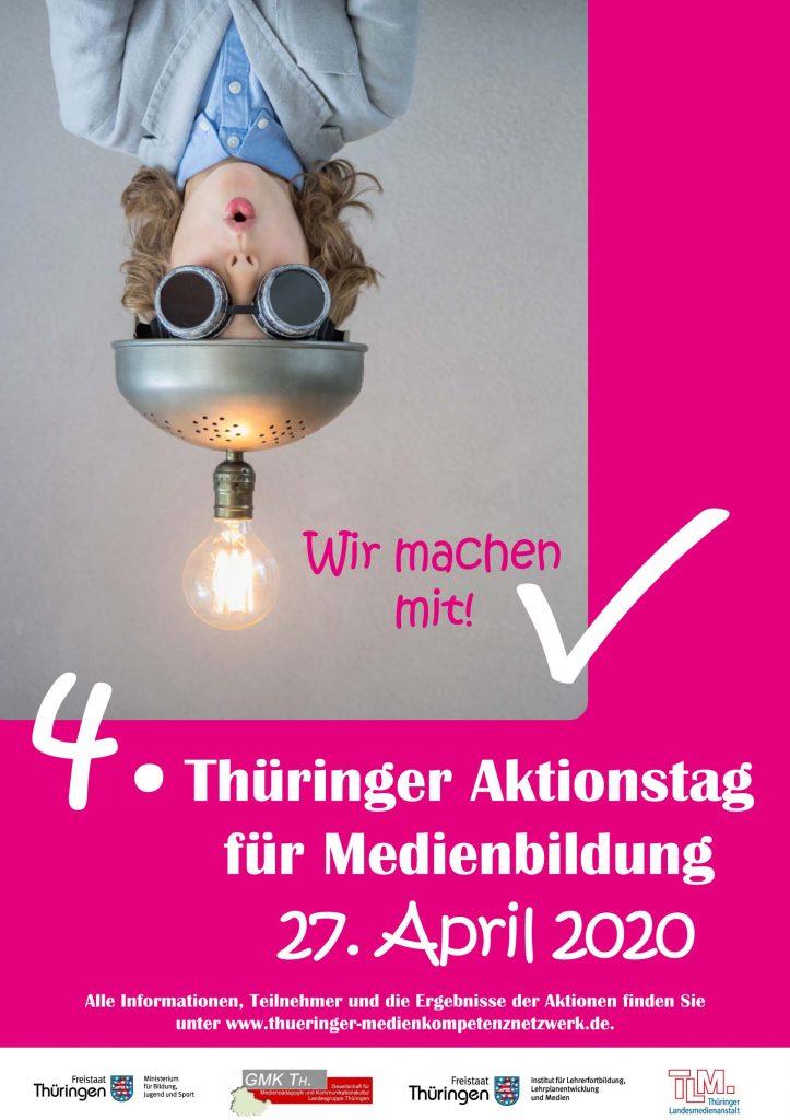 4. Thüringer Aktionstag Medienbildung am 27. April 2020